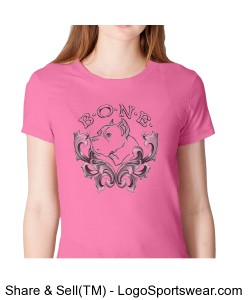 Fine Jersey Short Sleeve Ladies American Apparel Tee Design Zoom